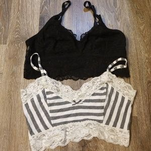 Bundle 2 Bralettes - S